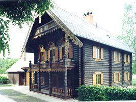 Frontansicht Haus Nr. 2 im Juli 2004