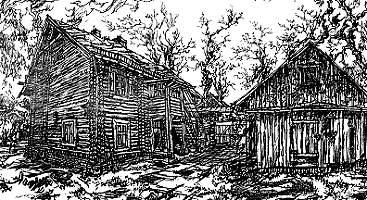 Zeichnung von Haus Nr. 2 , Prof. Dr. Horst Römer